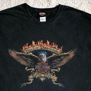 VTG Harley Davidson Tee Women's 4XL